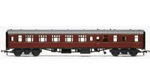 Hornby R4788 BR Mark 1 Brake 2nd Open (BSO), Maroon Livery